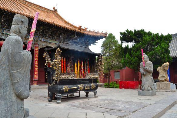 Ingresso esterno del tempio Dai