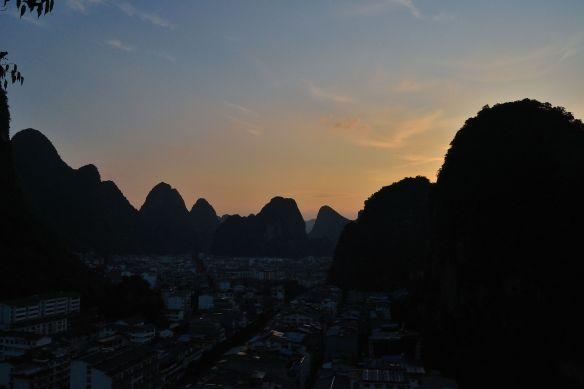 Tramonto su Yangshuo